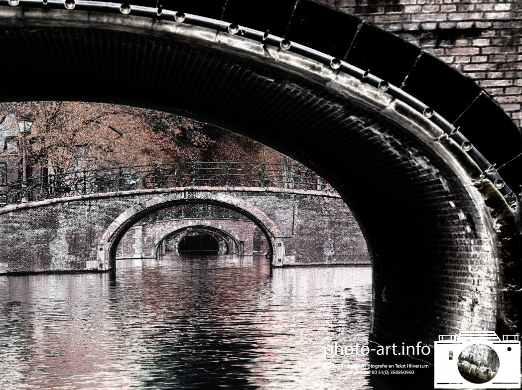 Amsterdam grachten Brug 74 E.J.Bruinekool Fotografie Hilversum  Copyright